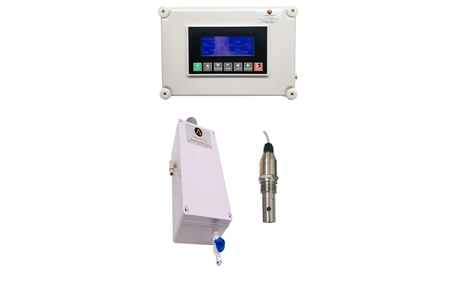 Online TDS Analyzer –  Pure Water Model TMC-102 + TCON102