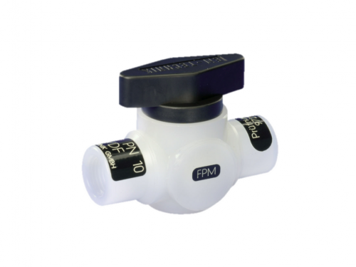 Ball valve (Series 6L), 2-way